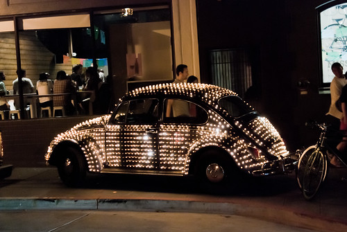 Light up art car by Keoki Seu