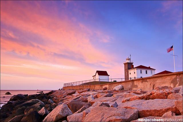 Watch Hill Lighthouse.