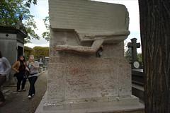 Paris, Sept. 2010:  Cimetiere du Pere Lachaise