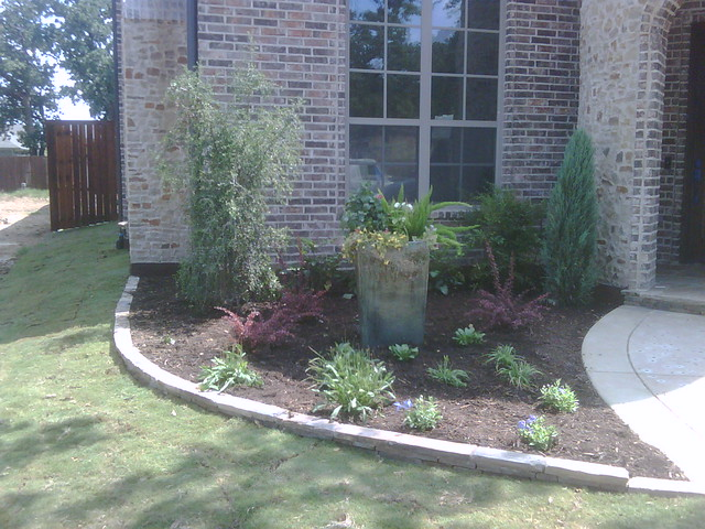 Landscaping Ideas East : Landscaping front lawn ideas east texas