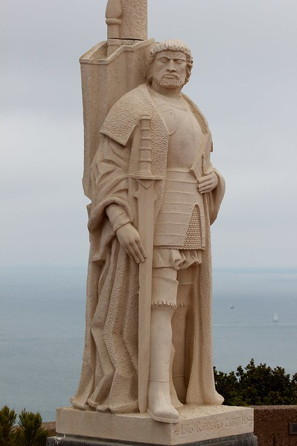 Cabrillo discovers San Diego Bay