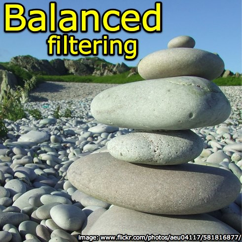 Balanced filtering