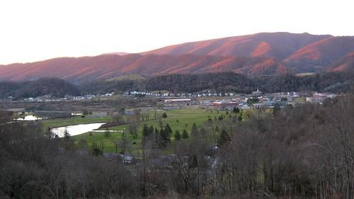 sunset panorama mountains evening virginia overlook southwestvirginia southwesternvirginia saltville rsworthyhighschool