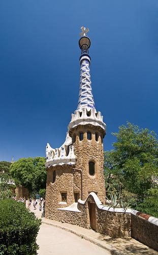 Parque Güell, Barcelona, Spain