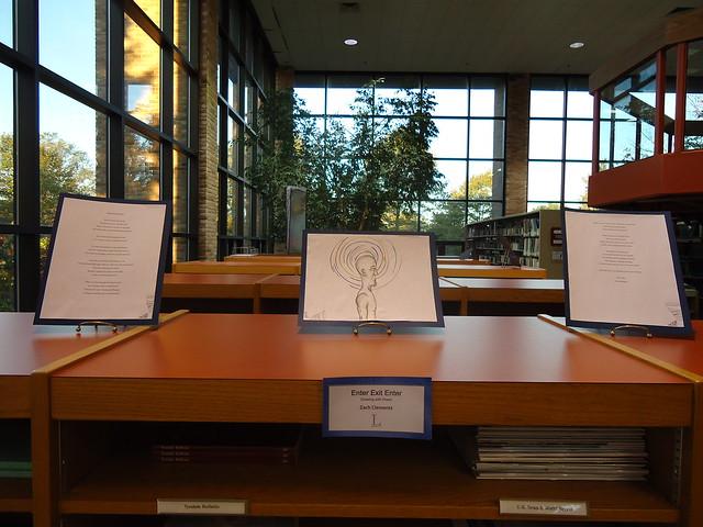 LibraryPrize: Enter Exit Enter