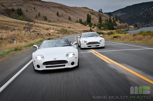 Spyker Vs. Aston