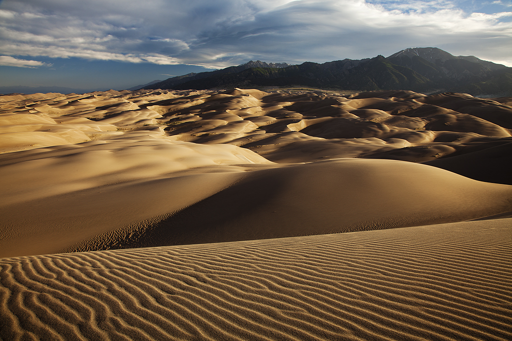 Rippled: Great Sand Dunes, CO