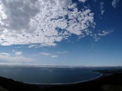 Clouds over Stinson Beach and Bolinas