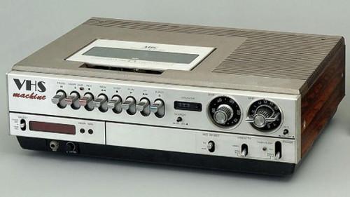 VHS-machine