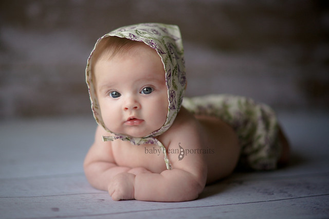 Old World Gal - Newborn Kids Photography