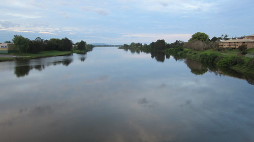 reflection clouds river view nsw newsouthwales kempsey macleay midnorthcoast