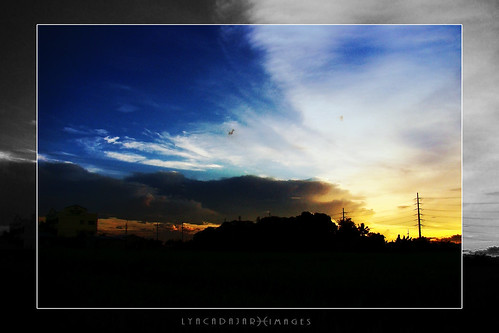 blue sunset sky nature silhouette clouds landscape god christian bible inspirational cavite verse calabarzon lyacadajar dasmarinascity