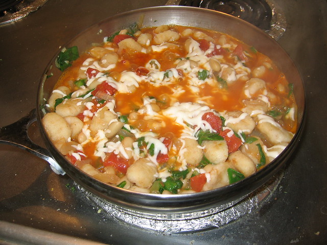 Skillet gnocchi with chard and white beans | Flickr - Photo Sharing!