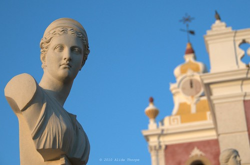 Palace of Estoi by Alida's Photos