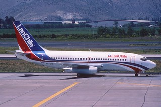 LAN Chile Boeing 737-236; CC-CHS@SCL, October 1998/ BTW