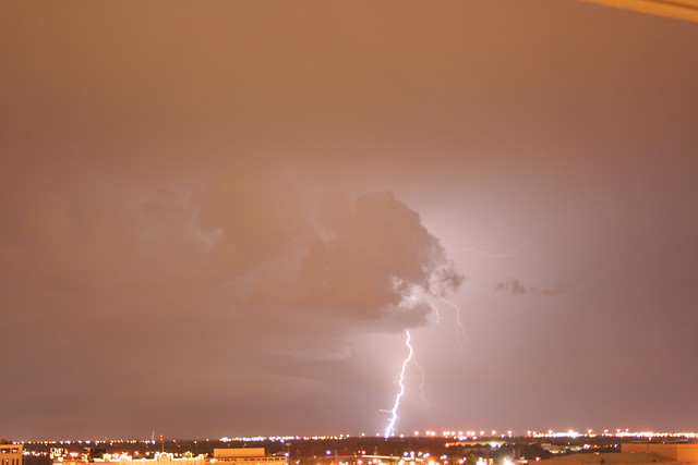 lightning in Oklahoma City