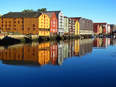 Storehouses at Trondheim