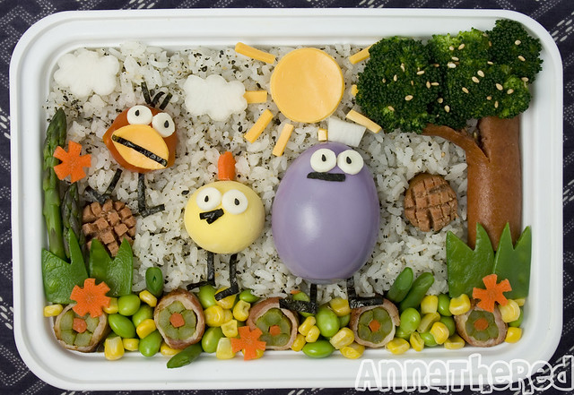 Peep and the Big Wide World Bento!