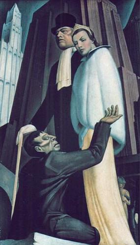 Downtrodden. Alton Tobey (1917-2005). Oil on canvas, 34 x 22 in. Location unknown.