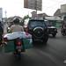 Lalu-lintas di Jl. Dr. Rajiman. : Congestion on Dr. Rajiman Street. Photo by Lalitya