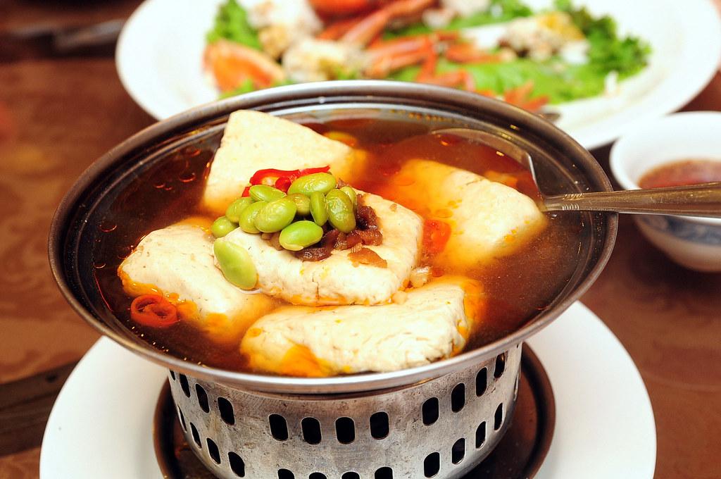 寧福樓-招待臭豆腐