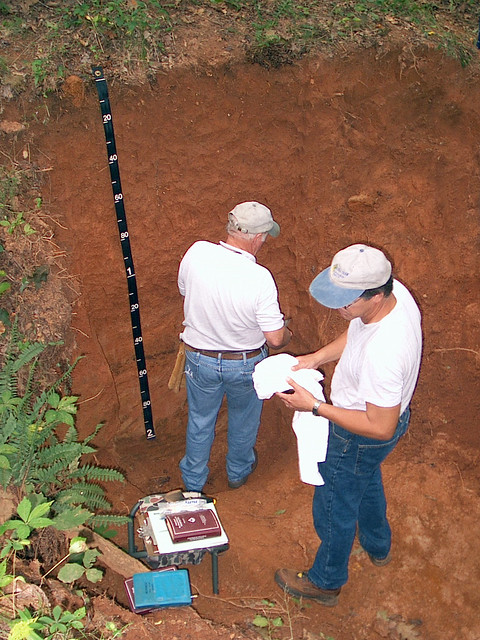 Soil scientists at work 3 flickr photo sharing for Soil scientist