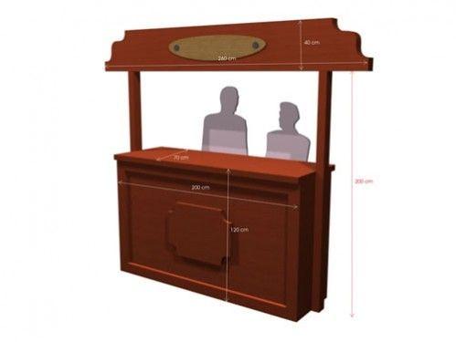 Mostradores de madera rusticos flickr photo sharing - Mostradores de madera para negocios ...