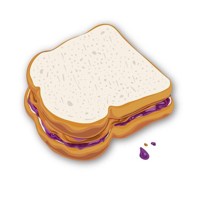 PB&J Sandwich | Flickr - Photo Sharing!