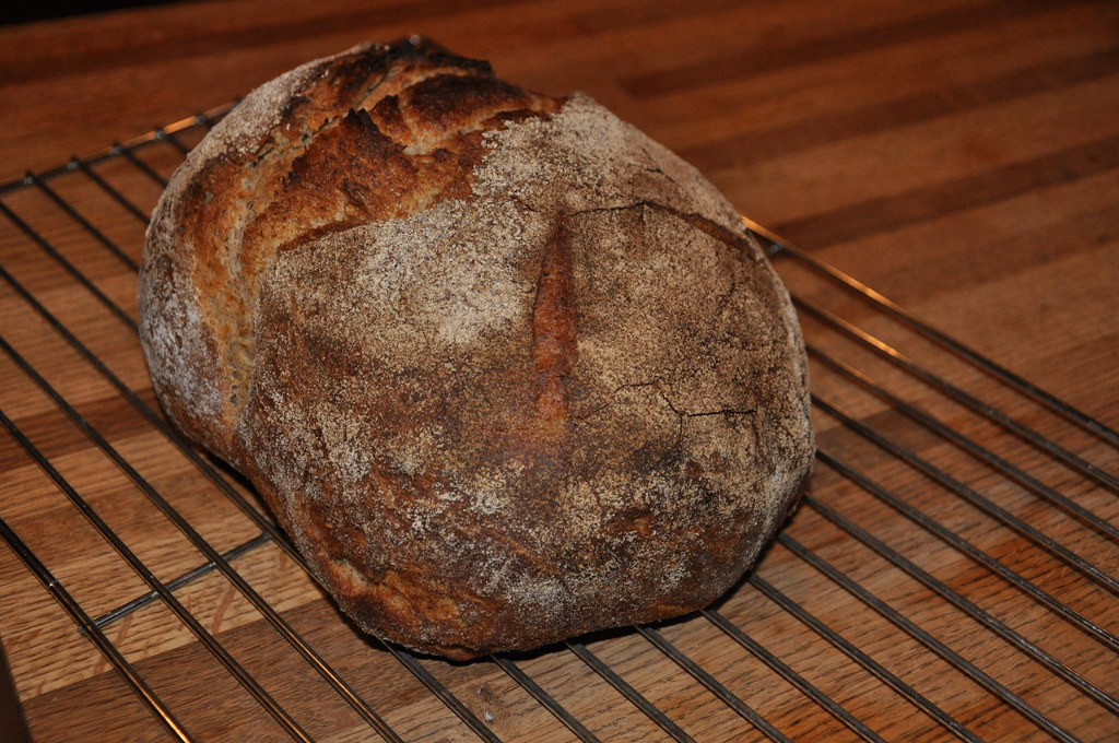 Polish Cottage Rye Sourdough Boule