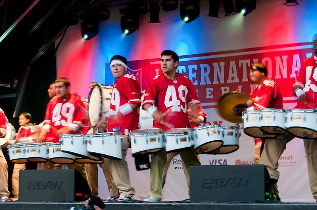 49ers Drum line