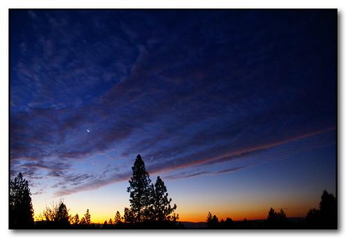 autumn fall sunrise washington spokane