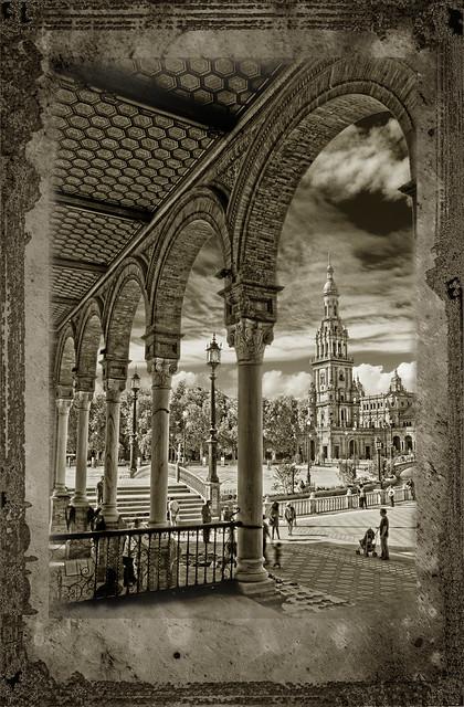Plaza de España textura Joe Sistah
