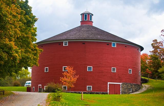 Round Barn At Shelburne Museum