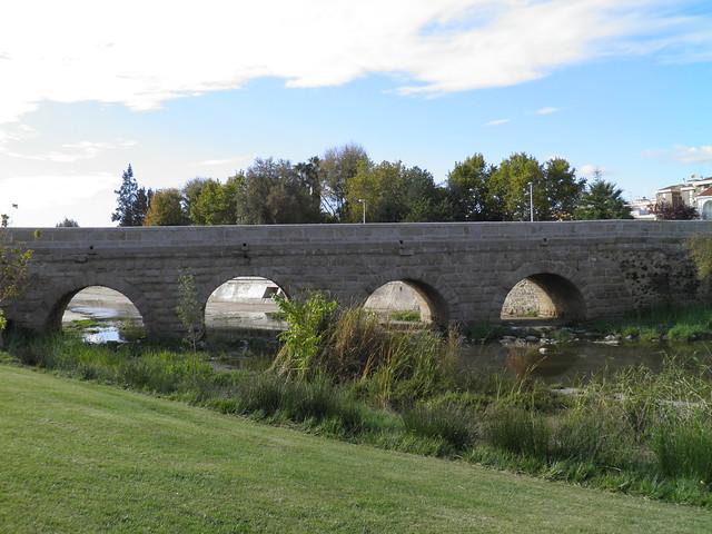 Roman bridge over the River Albarregas, Augusta Emerita
