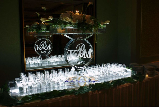 Wedding Centerpieces Ice Bars Ice Luges Custom Designs
