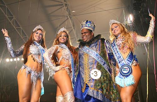 Fotos da Rainha do Carnaval e Rei  Momo - Rio de Janeiro