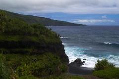 Hawaii - Black sand