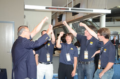 Team Michigan wins worldwide robotics competition