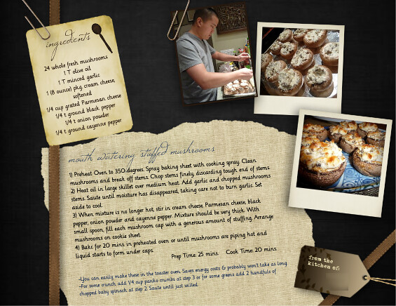 how to write a recipe book