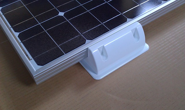 4x Solar Panel Mounts Mounting Brackets