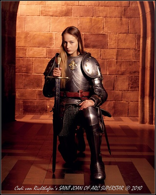 Leelee Sobieski playing Joan of Arc - CBS Television, 1999