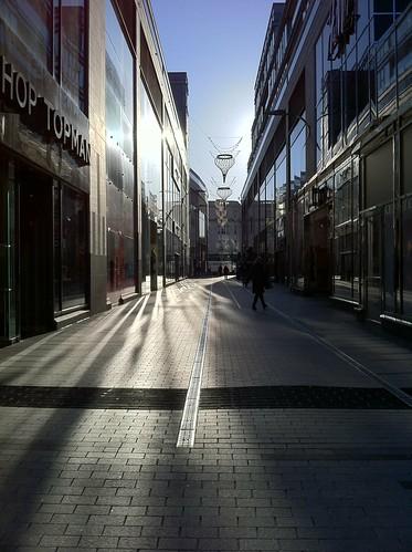 Shadows & Light on Opera Lane