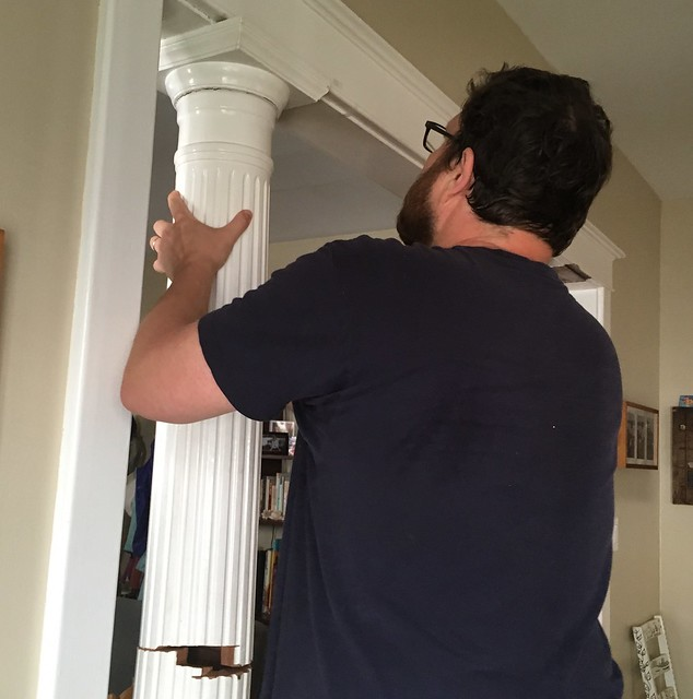 Removing ornamental columns