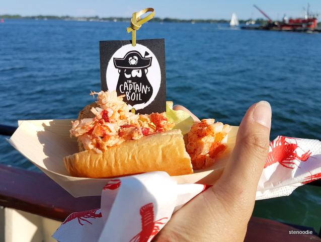 Captain's Boil Lobster Rolls