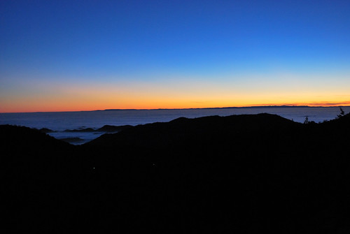 sunset orange mountains colors fog clouds evening view valley vista sierranevada sanjoaquin coastrange fourlanes
