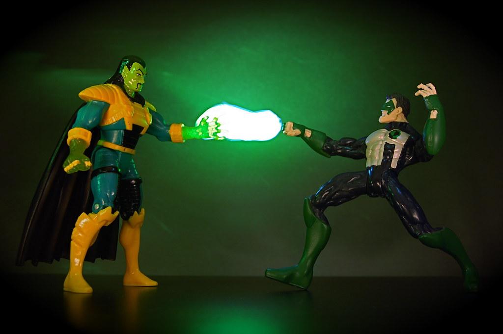 Mandarin vs. Green Lantern Kyle Rayner (209/365)