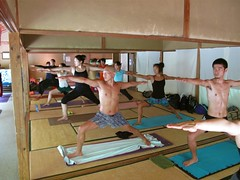sport venue(0.0), individual sports(0.0), sports(0.0), gymnastics(0.0), artistic gymnastics(0.0), room(1.0), pilates(1.0), physical fitness(1.0), physical exercise(1.0),