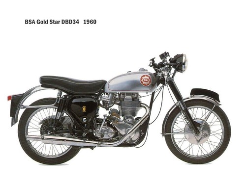 BSA Gold Star DBD34 - 1960