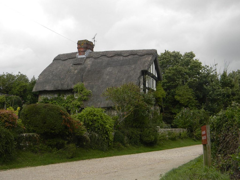 Thatched house, Wepham Amberley Circular (inc Arundel)