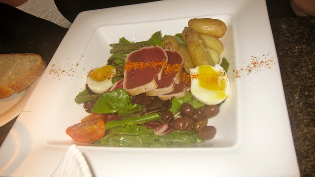 Tuna Salad | Yew Restaurant and Bar